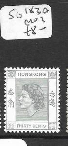 HONG KONG   (P2906B)  QEII  30C  SG 183A  MOG