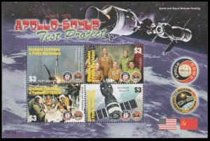 2006 Grenada - Grenadines 4280-83KL Apollo-Soyuz Test Project 10,00 €