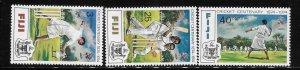 Fiji 1974 Centenary of Cricket Sc 344-346 MNH A2036