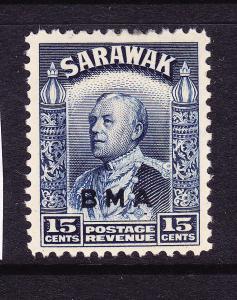 SARAWAK  1945  15c  BMA  MLH SG 135