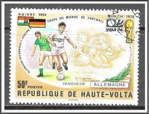 Upper Volta #337 World Cup Soccer CTO