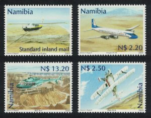 Namibia Civil Aviation 4v SG#882-885