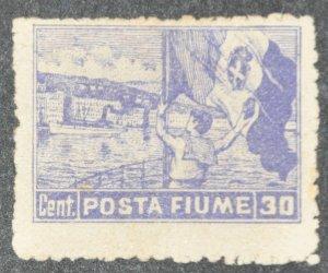 DYNAMITE Stamps: Fiume Scott #48 – UNUSED