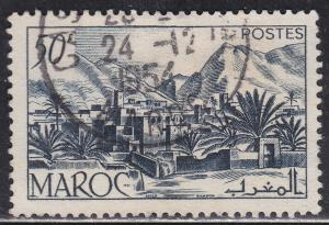 Fr Morocco 260 Hinged 1950 Todra Valley