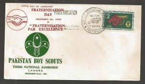 1960 Pakistan Scouts 3rd National Jamboree cancel Fraternisation Day