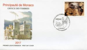 Monaco 2017 FDC Handicrafts SEPAC Pottery 1v Set Cover Crafts Stamps