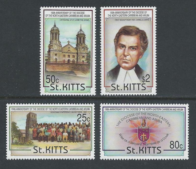 St. Kitts #356-9 NH Diocese of N.E. Caribbean & Aruba