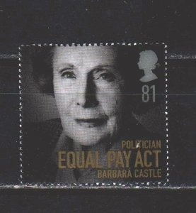 England. 2008. 2679 from the series. Castle politician, laborer. MNH.