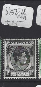 MALAYA STRAITS SETTLEMENTS   (P0510B)  KGV 1C  SG 278   MOG
