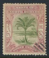 North Borneo SG 96 SC#81 Used  perf 13½ x 14  see details & scans