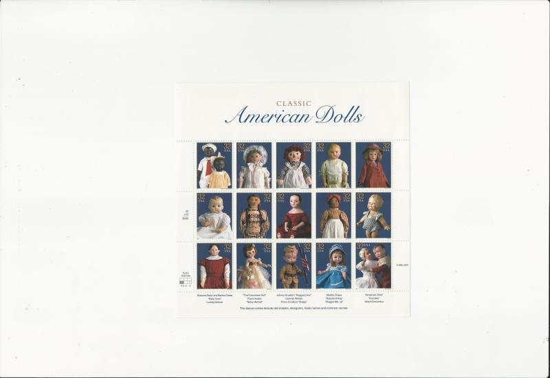 American Dolls  Scott #3151