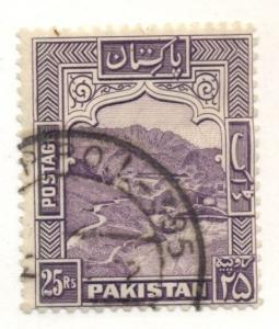PAKISTAN #43b Used Scott $37.50
