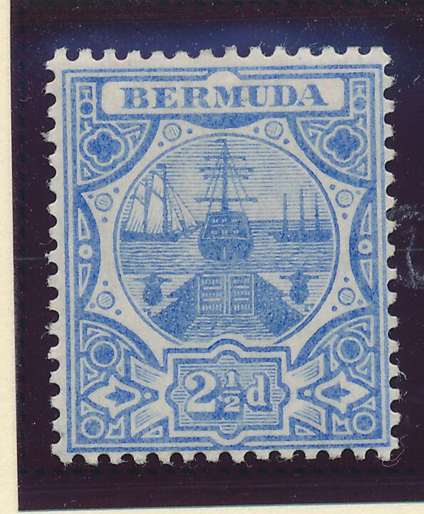 Bermuda Stamp Scott #38, Mint Hinged