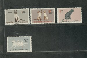 Thailand Sc#872-575 M/NH/VF, Cv. $19.65