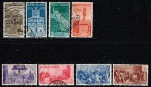 Italy # 478 - 485 Used