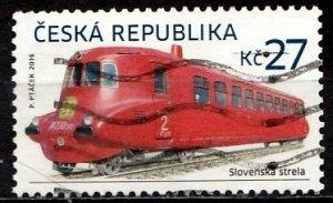 Czech Republic 2016 Mi. 874 used (1268)