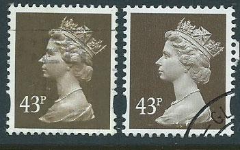 Great Britain - QE II Machin SG Y1716