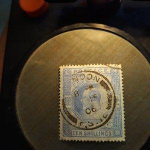 GB # 141 10 shilling ultra