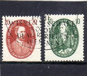 Germany DDR Hurtz and Euler used