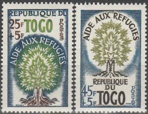 Togo #B15-6  MNH F-VF  (SU4638)