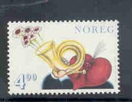 Norway Sc 1217 1999 Valentines Day stamp