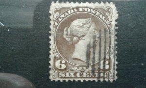 Canada #27 used crease space filler e1912.6063