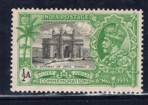 India 142 NH 1935 KGV Silver Jubilee