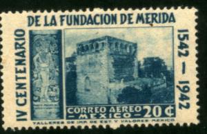 MEXICO C117, 20c 400th Anniv of Merida - Convent. MINT, NH