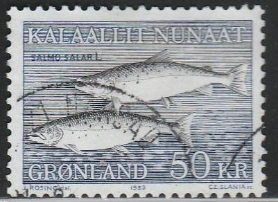 Greenland, #141 Used From 1981-86