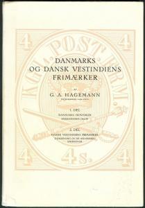 DENMARK DANSK VESTINDIENS FRIMAERKER - 3 vols