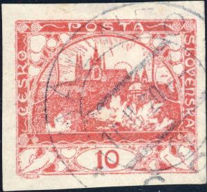 TCHECOSLOVAQUIE / CZECHOSLOVAKIA 1920  MÁLINEC * ČSP * a  (V.467-1) on Mi.3