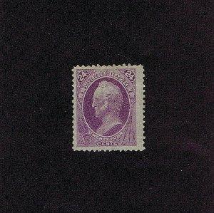 SC# 153 UNUSED NO GUM JUMBO MARGINS 24C WINFIELD SCOTT 1870-1871, 1979 PF CERT