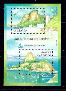 Brazil 2397 MNH 1992 Tourism S/S        #2