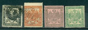 Transvaal #119-122  Mint & Used   Forgeries