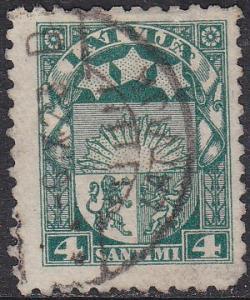 Latvia 115 Arms & Stars 1923