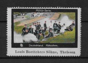 WW-I Propaganda stamp, German soldiers: Military Series,VF MNG