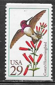 US#2644  $0.29 Bird   (MNH) CV $0.60