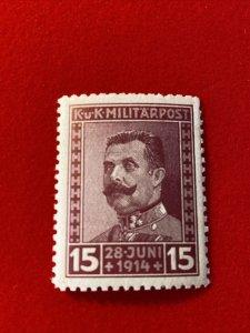 1917 Bosnia Stamp - Scott #B14 Mint No Hinge