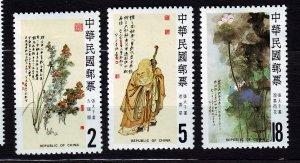 J23002 JLstamps 1984 taiwan china mnh set #2407-9 god longevity