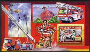 Guinea MNH S/S European Fire Fighting Equipment 2006