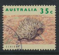 Australia SG 1362  Used  - Wildlife Echidna