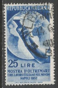 ITALY 604 VFU O257