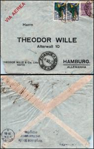 Goldpath: Brazil Air Mail 1934, to Germany   _CV23_P10