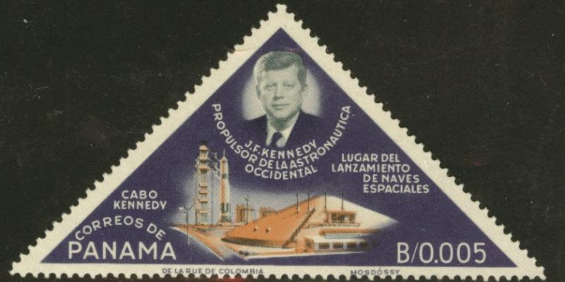 Panama  Scott 459 MNH** 1964 JFK Cape Kennedy space stamp
