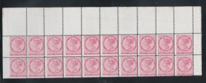 Prince Edward Island #5v Mint Never Hinged Top Block Of Twenty
