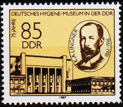 Germany(DDR).1987 85pf S.G.E2795 Unmounted Mint