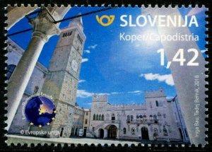 HERRICKSTAMP NEW ISSUES SLOVENIA Sc.# 1264 Tourism 2018 - Koper