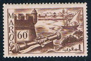 French Morocco 160A MLH Ramparts 1939 (F0122)+