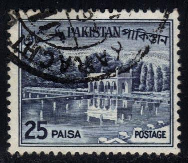 Pakistan #136a Shalimar Gardens, used (0.50)