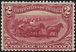 286 Mint,OG,NH... SCV $72.50